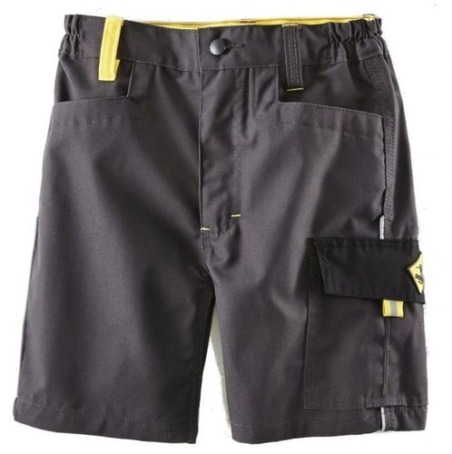 Terrax Kinder short anthrazit/gelb